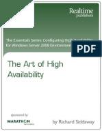 Art_of_High_Availability