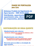 AQ.2 - Água Quente - Distribuição, aquecimento central, aquecimento solar, dimensionamento, piscinas