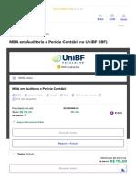 Valor Mensalidade UniBF