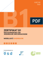 b1 Modellsatz Jugend