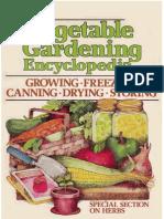 Vegetable Gardening Encyclopedia