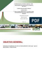 PRESENTACIÓN POWER POINT  AGUA AGU ATUBOS CONCENTRICOS mayo2021