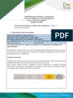 Guia de actividades y Rúbrica de evaluación - Reto 4