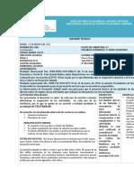 INFORME DE ACTIVIDADES 21 DE ENERO DEL 2021