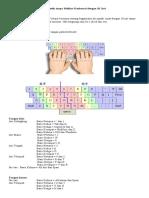 Mengetik Tanpa Melihat Keyboard Dengan 10 Jari