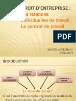 Contrat de Travail Maroc