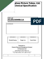 CLAA156WB11A