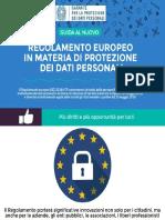 Guida Al Nuovo Regolamento Europeo in Materia Di Protezione Dati