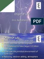 orign of life