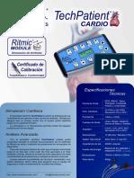 Folleto TechPatient CARDIO V3