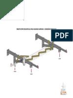 Vigas Isométrico 3D Teste de Carga 200920