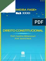 Material de Apoio - Direito Constitucional (Prof. Caroline Bittencourt e Prof. Janriê Reck) (1)