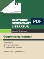 Deutsche Literatur gekürzt