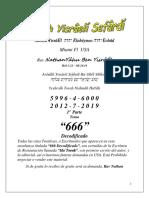 Tema@ 666 Decodificado 1ª  Parte