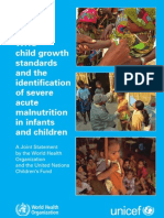 WHO Child growth standards idi SAM
