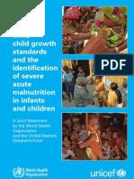 WHO Child growth standards idi SAM