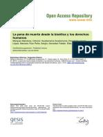 Ssoar-cienciaergo-2015-1-Marquez Mendoza Et Al-La Pena de Muerte Desde