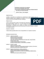 ORGANIZACIÓN y PROGRAMA DE NEGOCIOS INT.  UTP-1