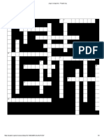 Crucigrama_Habilidades del pensamiento