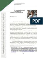 Dieter Axt - Entretien avec Francois