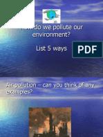 n Pollution