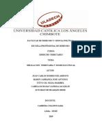 derecho  tributario monografia