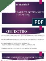 Analyse de Faisabilité Economique Et Financiere COMPLET