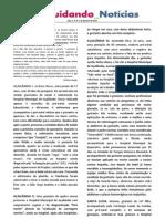 Cuidando Notícias nº 06 - Ano 1 | Projeto Cuidando do Futuro