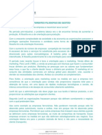 PANCERI e NEVES Diferentes FILOSOFIAS de gestão
