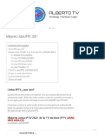 GUIA IPTV 2021 ? Listas M3U GRATIS ACTUALIZADAS ?