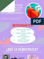 GOBERNABILIDAD, POLÍTICAS PÚBLICAS, DERECHOS DE PARTICIPACIÓN Y CONTROL CIUDADANO