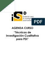 Técnicas de Investigación Cualitativa para PDI