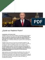 ¿Quién es Vladimir Putin_ – Otralectura.com