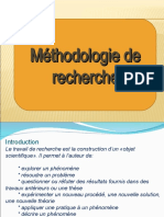 méthodologie de recherche