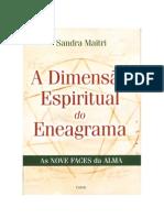 A Dimensao do Eneagrama - Sandra Maitri
