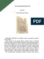 Apocrifos - Carta de Herodes a Pilatos