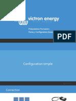 Victron Energy - Présentation Formation - 5. Configuration (base)