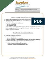 Documents pour déménagement Effets personnels France-Réunion