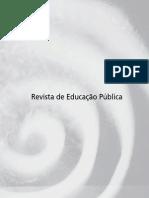 Revista de Educação Pública - Saturação
