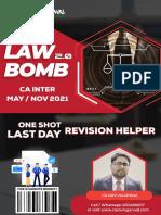 (Sample) Law Bomb 2.0 (CA Inter) by CA Ravi Agarwal