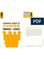 Emmanuel Lasker--Common sense in chess