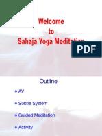 Sahaja Yoga Meditation in Corporates