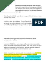 Antonio Pérez Es Un Empresario Trujillano Del Sector Textil