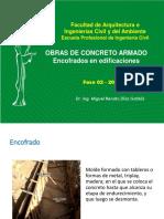 4. OBRAS DE CONCRETO ARMADO - ENCOFRADOS