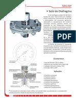 Selo de Diafragma para Instrumentos