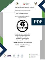 Proyecto Desarrollo Organizacional