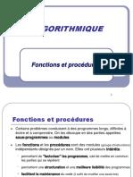 Cours 3 Fonctions procedures