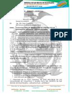 INFORME  N° 012– 2021 – MDSMCH – GDUR-N.Y.C. SOLICITUD DE RESOLUCION