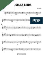 La Chula Linda - Saxofón Alto 1