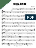La Chula Linda - Saxofón Barítono